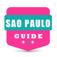 Sao Paulo travel guide and offline map - metro São Paulo subway saopaulo airport transport, city Sao